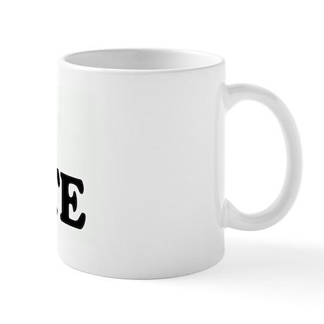 I Love WASTE Mug