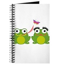 Froggy Couple Journal