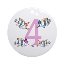 4 years old Ornament (Round)