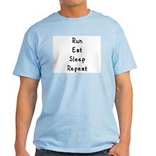T-Shirt- Run, eat, sleep