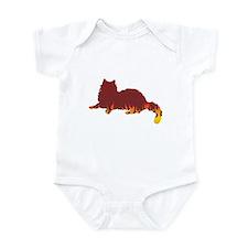 Ragdoll Flames Infant Bodysuit