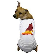 Ragamuffin Flames Dog T-Shirt