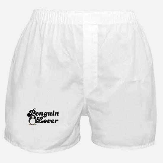 Penguin Lover Boxer Shorts