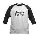 Penguin Lover Kids Baseball Jersey