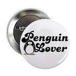 Penguin Lover Button