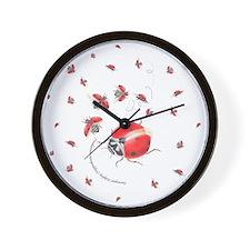Ladybug, ladybug fly away Wall Clock