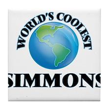 World's Coolest Simmons Tile Coaster