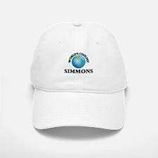 World's Coolest Simmons Baseball Baseball Cap
