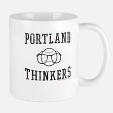 Portland Thinkers Baseball Team Mugs
