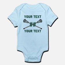 Personalized Green Body Suit
