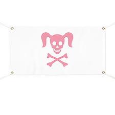 Girly Skull Banner