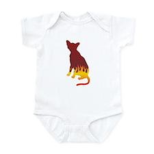 Havana Flames Infant Bodysuit