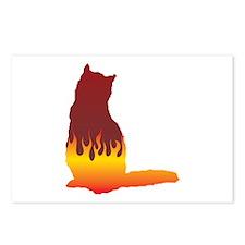 Shorthair Flames Postcards (Package of 8)