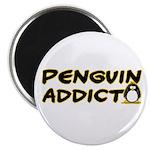 Penguin Addict Magnet