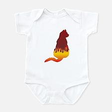 Mau Flames Infant Bodysuit