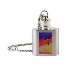 Into The Sunset Flask Necklace