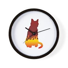Bombay Flames Wall Clock