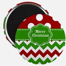 Red Green Christmas Magnets
