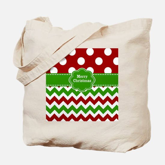 Red Green Christmas Tote Bag