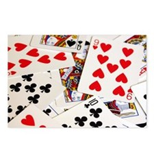 Poker Postcards (Package of 8)