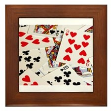 Poker Framed Tile