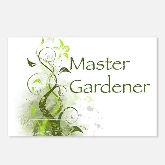 Master Gardener modern Postcards (Package of 8)