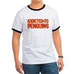 Addicted to Penguins Ringer T