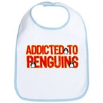 Addicted to Penguins Bib