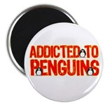 Addicted to Penguins Magnet
