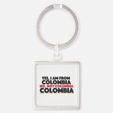 Yes, I Am From Colombia Keychains