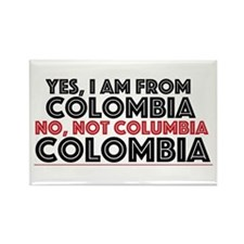 Yes, I Am From Colombia Magnets