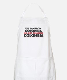 Yes, I am from Colombia Apron