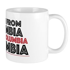 Yes, I Am From Colombia Mugs