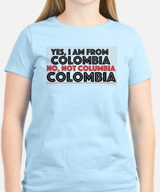 Yes, I am from Colombia T-Shirt