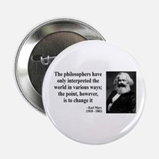 Karl Marx Quote 5 Button