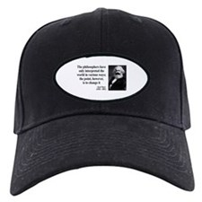 Karl Marx Quote 5 Baseball Hat