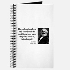 Karl Marx Quote 5 Journal