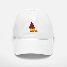 Curl Flames Baseball Baseball Cap