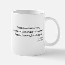 Karl Marx Text 5 Mug