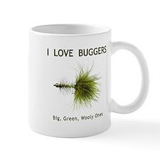 """I Love Buggers"" Mug"