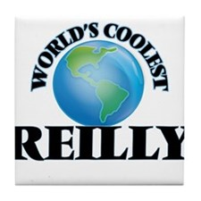 World's Coolest Reilly Tile Coaster
