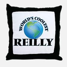World's Coolest Reilly Throw Pillow