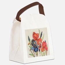 IRIS FLOWER Canvas Lunch Bag