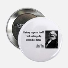 Karl Marx Quote 6 Button