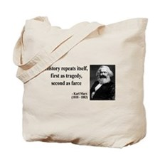 Karl Marx Quote 6 Tote Bag
