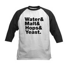 Beer   Water & Malt & Hops & Yeast. Baseball Jerse
