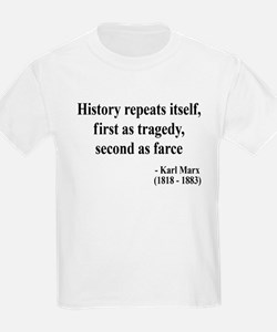 Karl Marx Text 6 T-Shirt