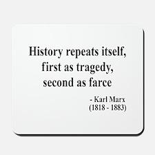 Karl Marx Text 6 Mousepad