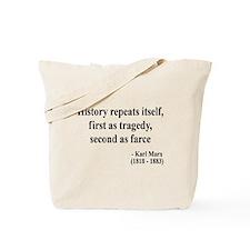 Karl Marx Text 6 Tote Bag