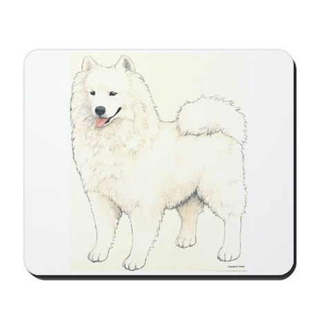 Samoyed Dog Mousepad
